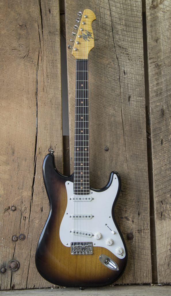 Mario Guitar Custom Built for Bill Avonda 1