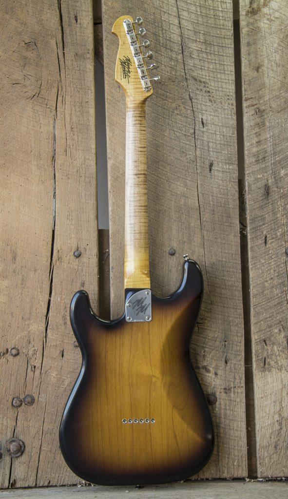 Mario Guitar Custom Built for Bill Avonda 2