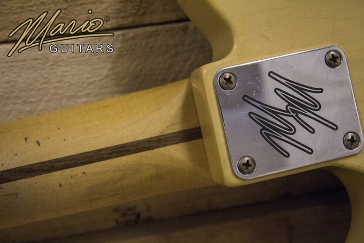 Mario Guitar Mario Martin T Style NoCaster Blonde 5.
