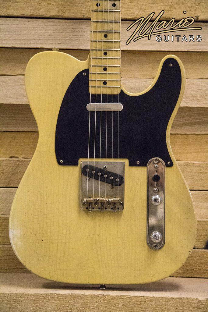 Mario Guitar Mario Martin T Style Nocaster Butterscotch Blonde 52 1