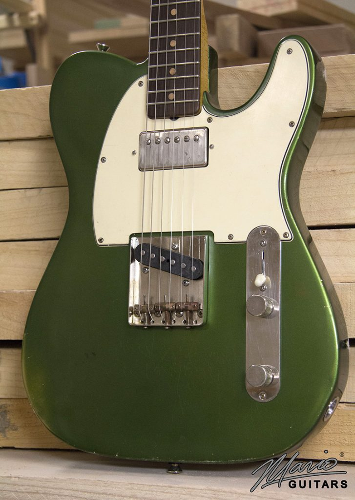 Mario Guitars Candy Apple Green T style 1.