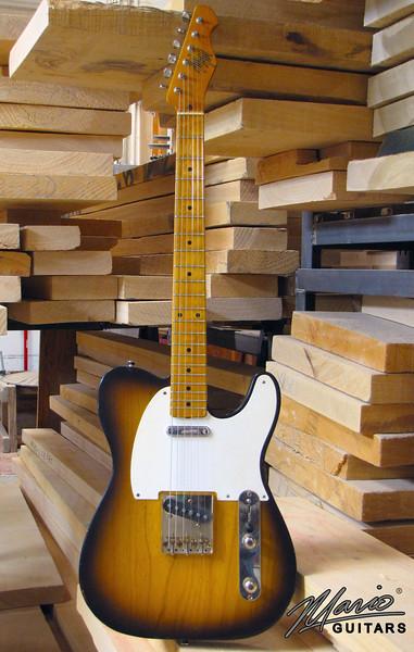 Mario Guitars T Style – 2 tone sunburst swamp ash 1.-L