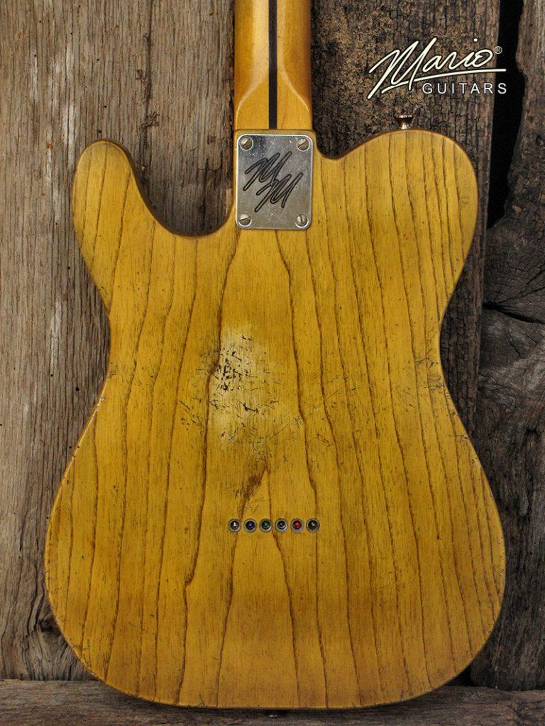 Mario Guitars T Style – Amber Blonde 4
