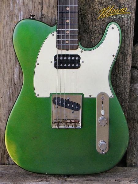 Mario Guitars T Style – paulownia Candy apple green 3-L