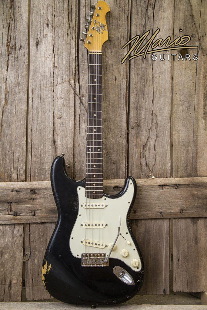 Mario Martin Guitar MM Blackie 1.