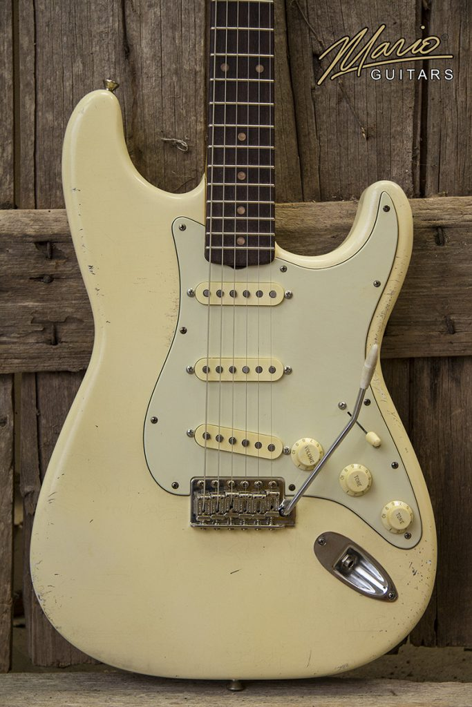 Mario Martin Guitar MM Vintage White Blonde 3.