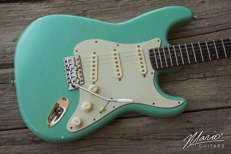 Mario Martin Guitar Mario Guitars Seafoam Green 1.
