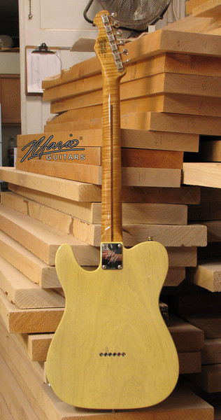 Mario Martin Guitar Nocaster T 4-L