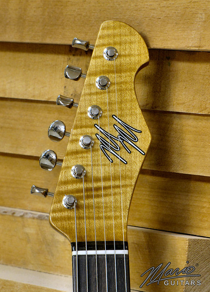 Mario Martin Guitar Ocean Turquoise T 4-L