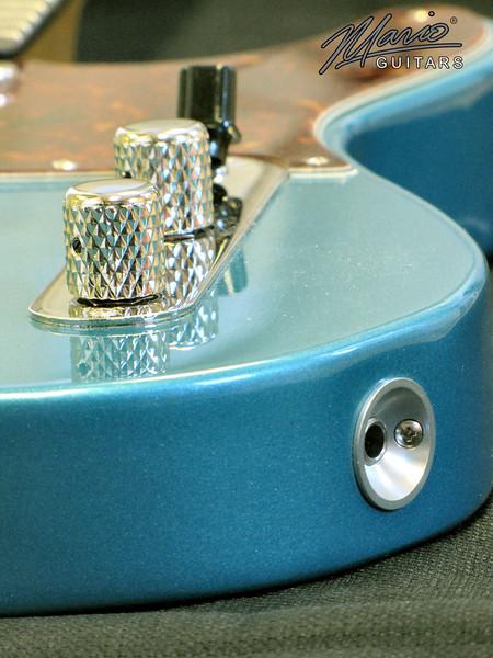 Mario Martin Guitar Ocean Turquoise T 5-L
