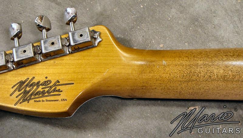 Mario Martin Guitar Sonic Blue Strat 1.-L