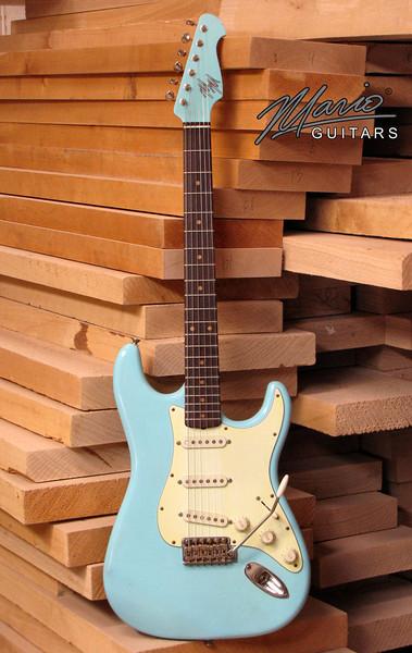 Mario Martin Guitar Sonic Blue Strat 10-L