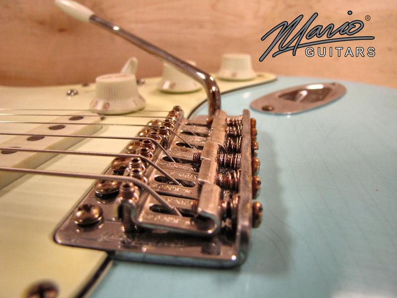 Mario Martin Guitar Sonic Blue Strat 11-L