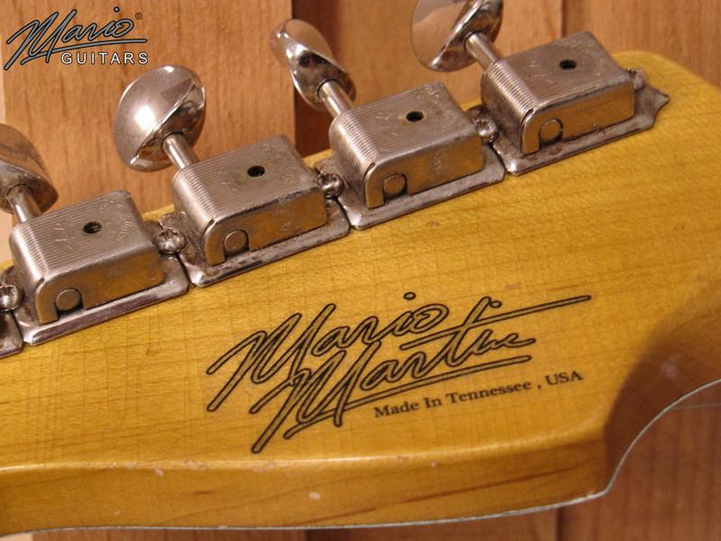 Mario Martin Guitar Sonic Blue Strat 4-L