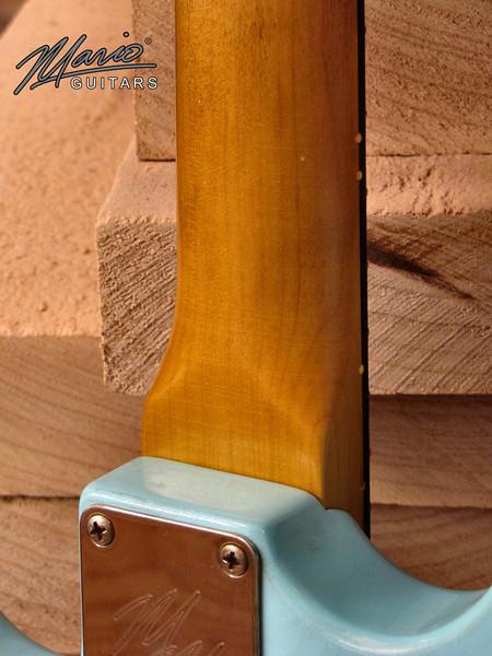 Mario Martin Guitar Sonic Blue Strat 5-L