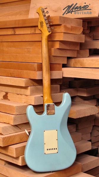 Mario Martin Guitar Sonic Blue Strat 6-L