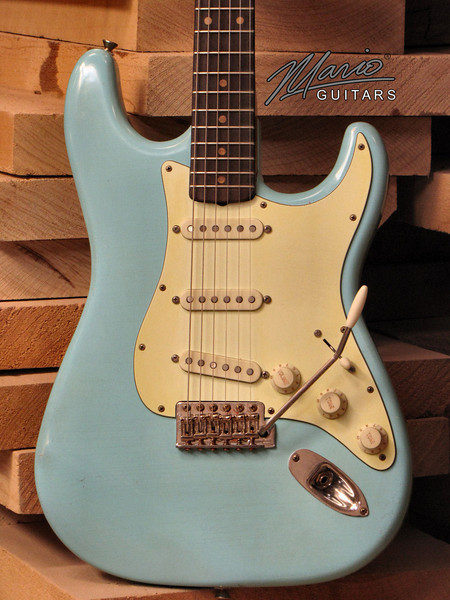 Mario Martin Guitar Sonic Blue Strat 9-L