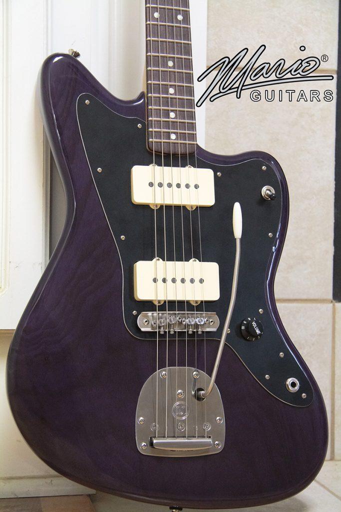 Mario Martin Jazz Guitar Trans Purple 1.