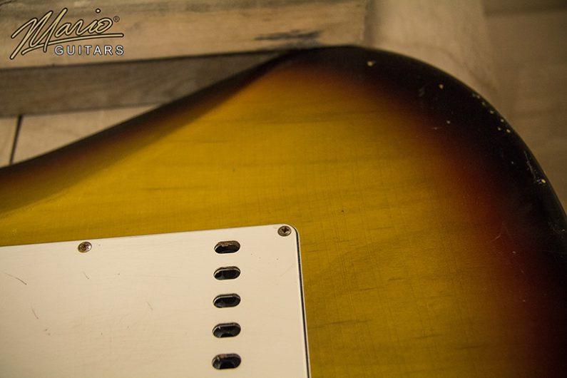 Mario Martin Mario Guitars 3 Tone Sun Burst Strat