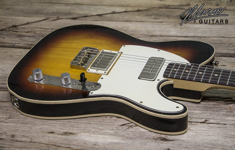 Mario Martin Mario Guitars 3 Tone Sunburst Double Bound T 1.
