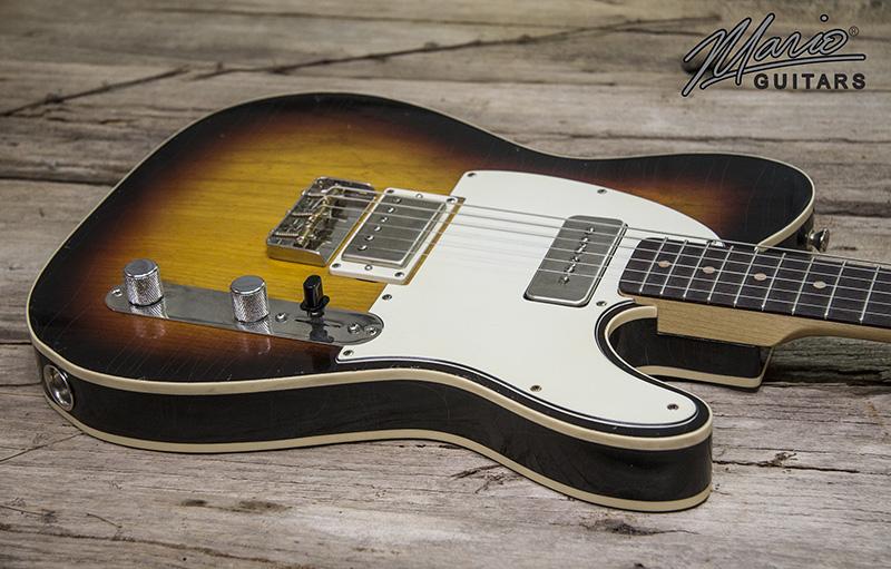 Mario Martin Mario Guitars 3 Tone Sunburst Double Bound T 1.