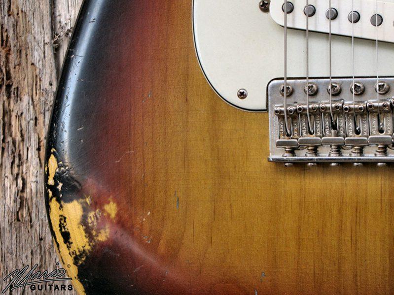 Mario Martin Mario Guitars 3 Tone Sunburst S 6