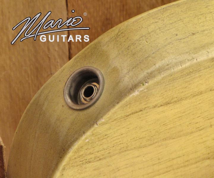 Mario Martin Mario Guitars Aged Relic T for Matte Henderson 18.-L