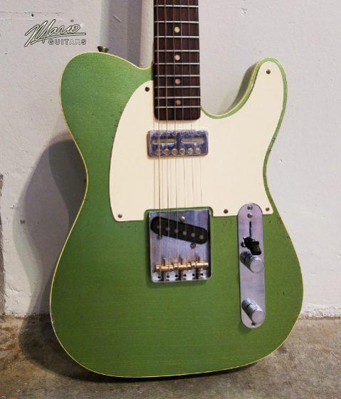 Mario Martin Mario Guitars Avacado MistTele 1.