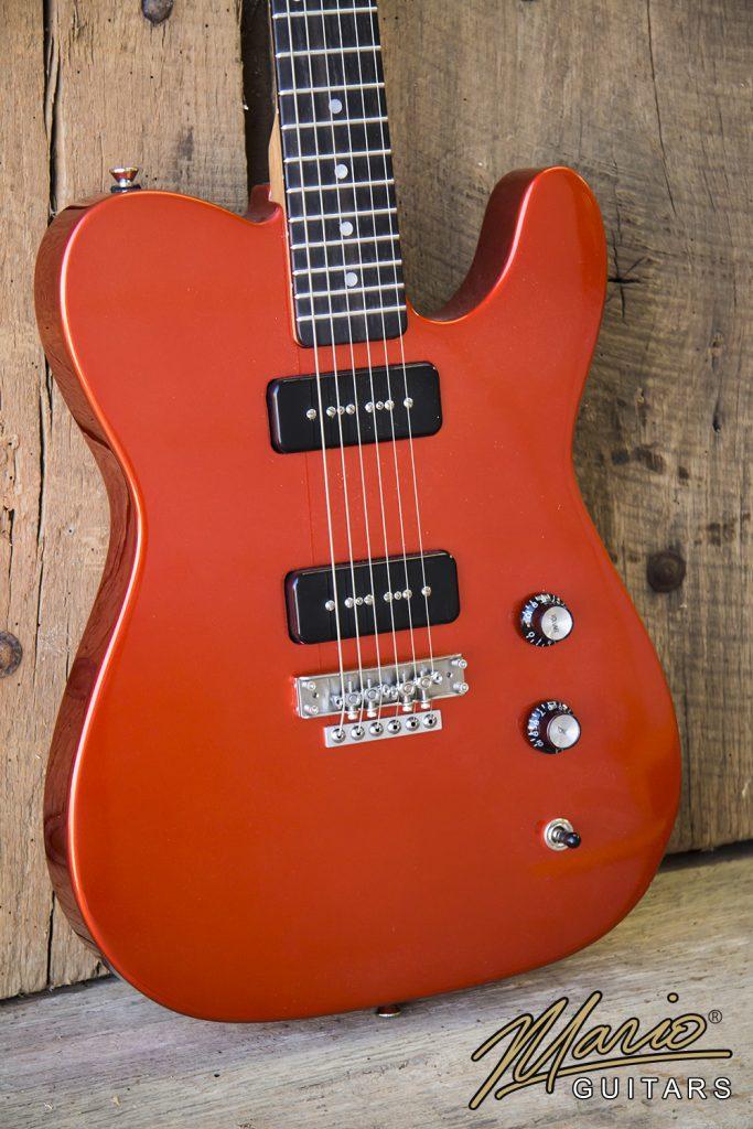 Mario Martin Mario Guitars Candy Apple Mahogany T 2