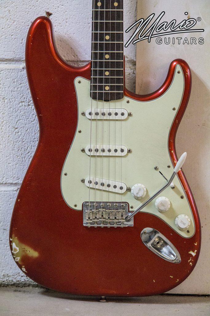 Mario Martin Mario Guitars Candy apple red s 2