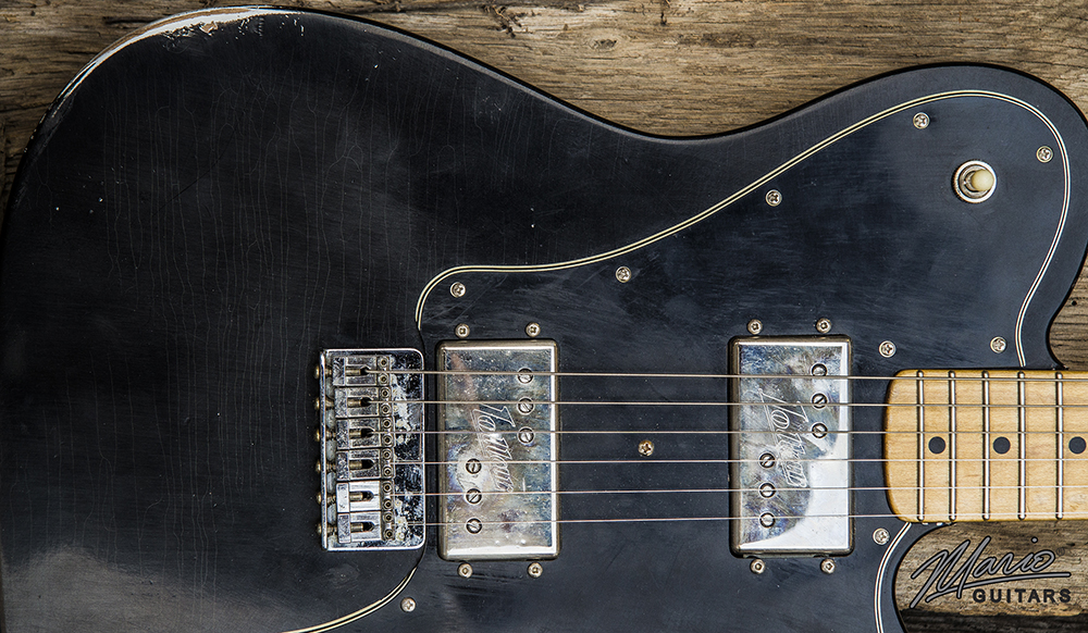 Mario Martin Mario Guitars Deluxe Lollar Widerange Tele 1.