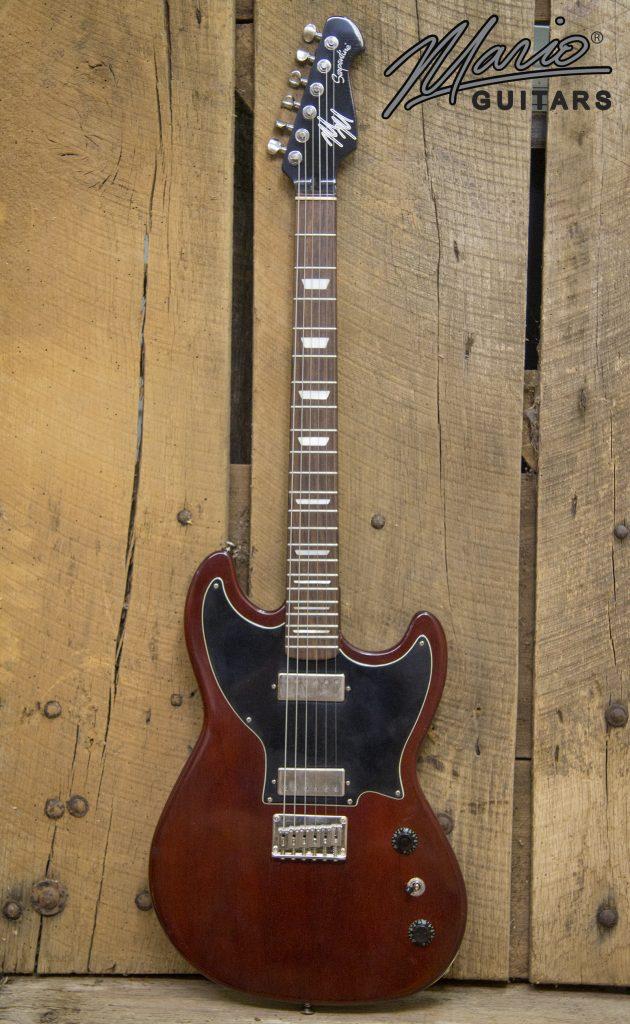 Mario Martin Mario Guitars Heritage Cherry Mahogany 1.