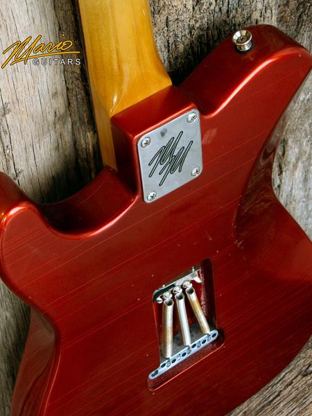 Mario Martin Mario Guitars Honcho Candy Apple 5-L