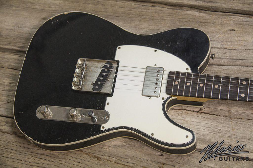 Mario Martin Mario Guitars Humbucker Black Double Bound T Style 1.