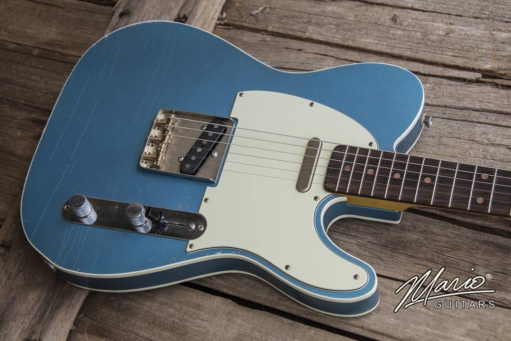 Mario Martin Mario Guitars Lake Placid Blue Double Bound T 1.