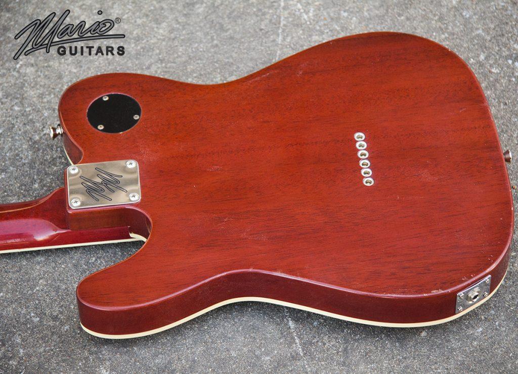 Mario Martin Mario Guitars Maple Mahogany T 3