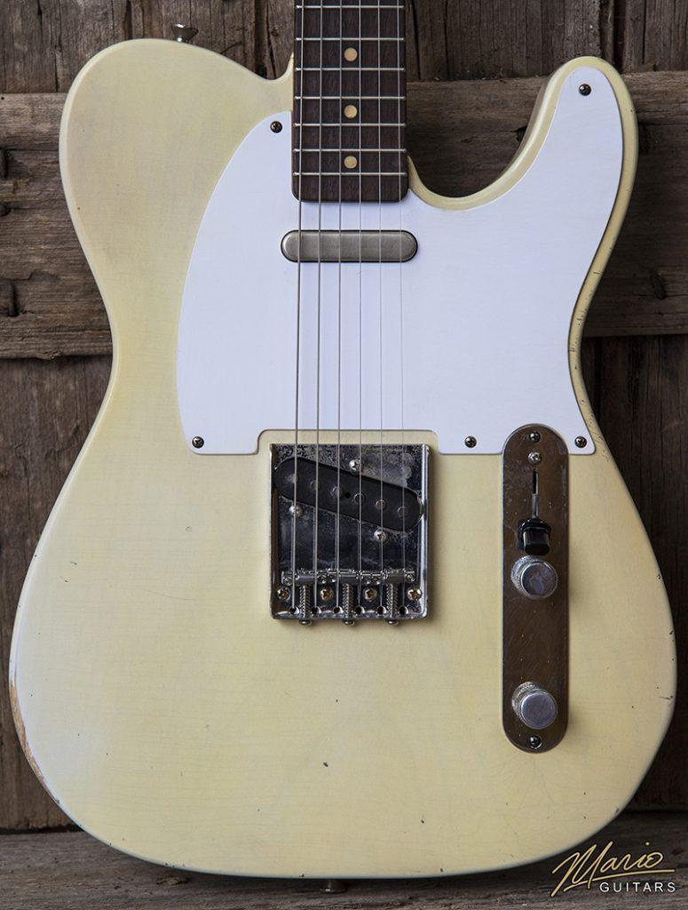 Mario Martin Mario Guitars Nicotine Blonde T 3.