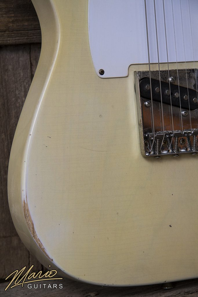 Mario Martin Mario Guitars Nicotine Blonde T 4.