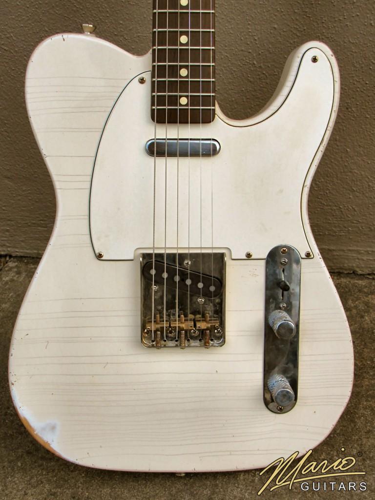 Mario Martin Mario Guitars Olympic White T 1.
