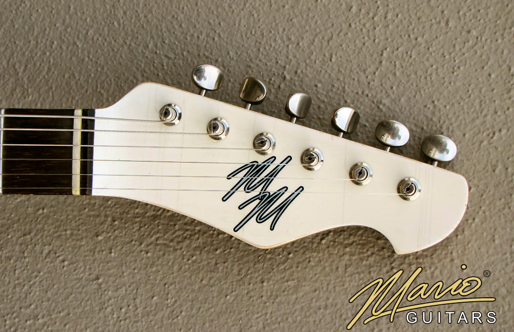 Mario Martin Mario Guitars Olympic White T 2