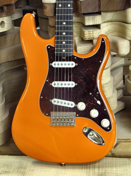 Mario Martin – Mario Guitars S-Style Crush Orange 3.-L