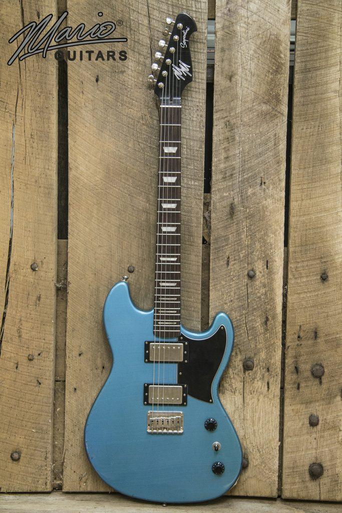 Mario Martin Mario Guitars Serpentine Pelham Blue 1.