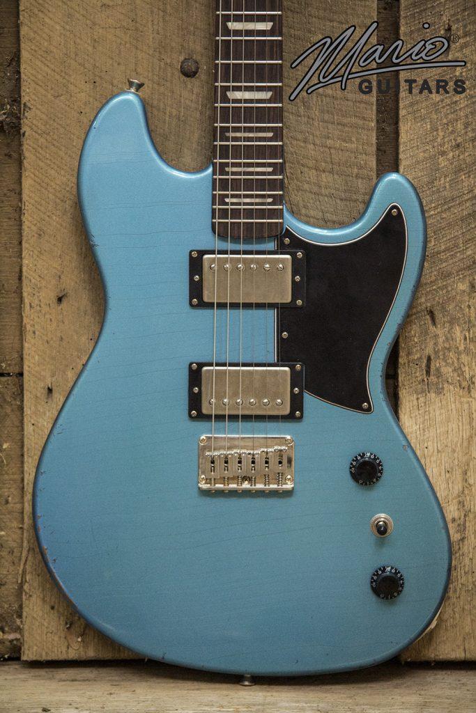 Mario Martin Mario Guitars Serpentine Pelham Blue 2.