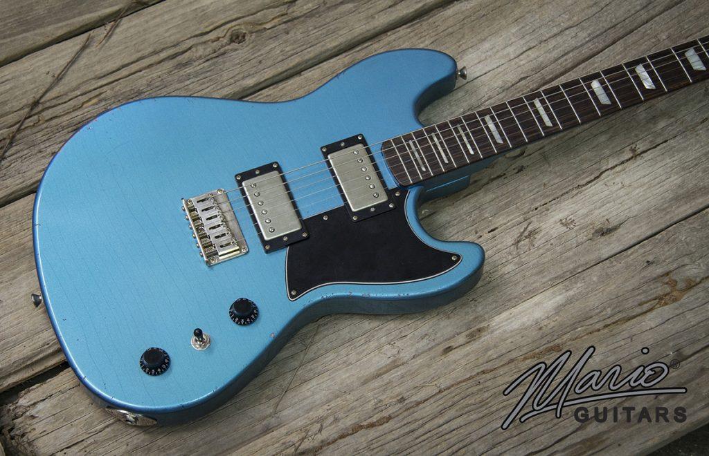 Mario Martin Mario Guitars Serpentine Pelham Blue 3.