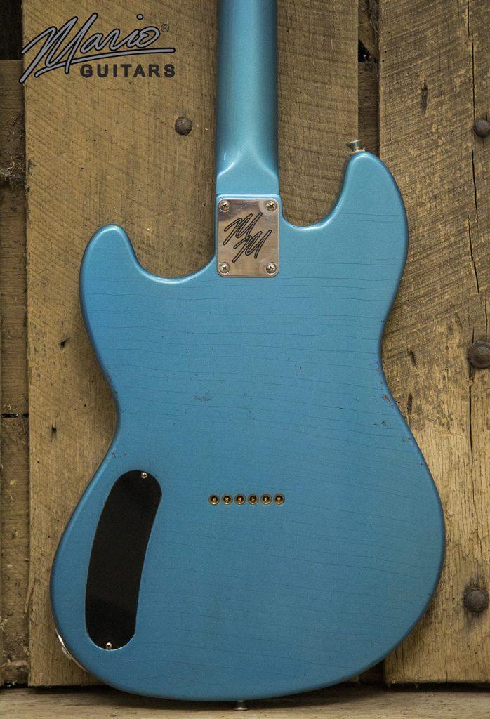 Mario Martin Mario Guitars Serpentine Pelham Blue 4.