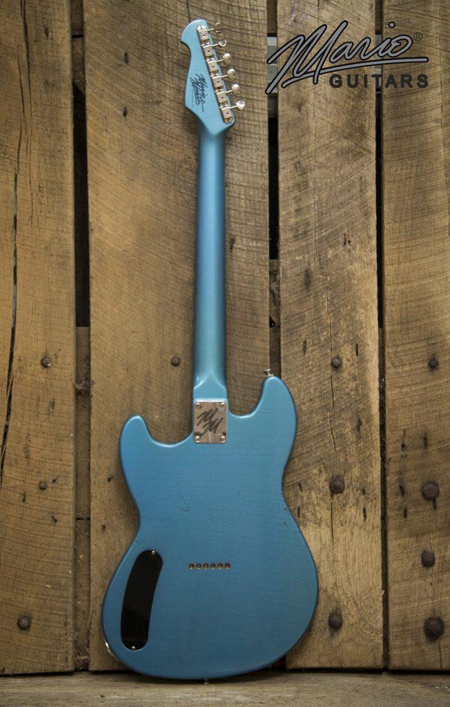 Mario Martin Mario Guitars Serpentine Pelham Blue 5.