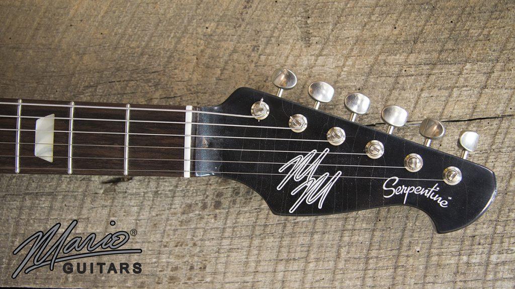 Mario Martin Mario Guitars Serpentine Pelham Blue 6.