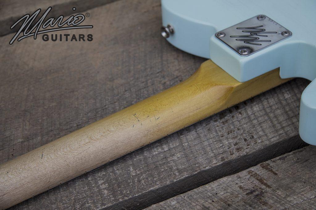 Mario Martin Mario Guitars Sonic Blue T Style tele relic 3