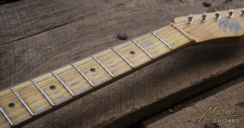 Mario Martin Mario Guitars Sonic Blue T Style tele relic 4