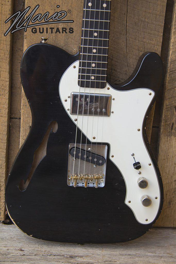 Mario Martin Mario Guitars T Hollow Lollar Widerange 2.